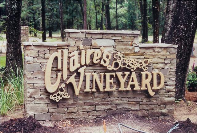 Claires Vineyard